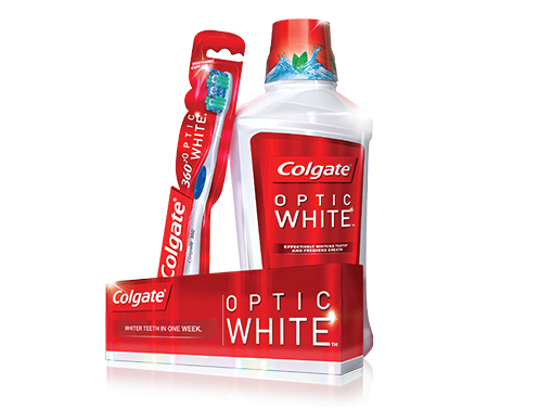 Optic White® Whitening Toothpaste, Mouthwash and Toothbrushes